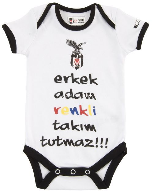 Besiktas Ss Interlock Body - Infant from  at Besiktas Shop #