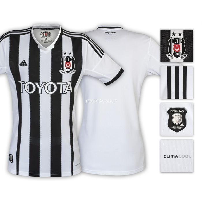 Besiktas Home Jersey 13/14 from  at Besiktas Shop # 34S4E01001U02