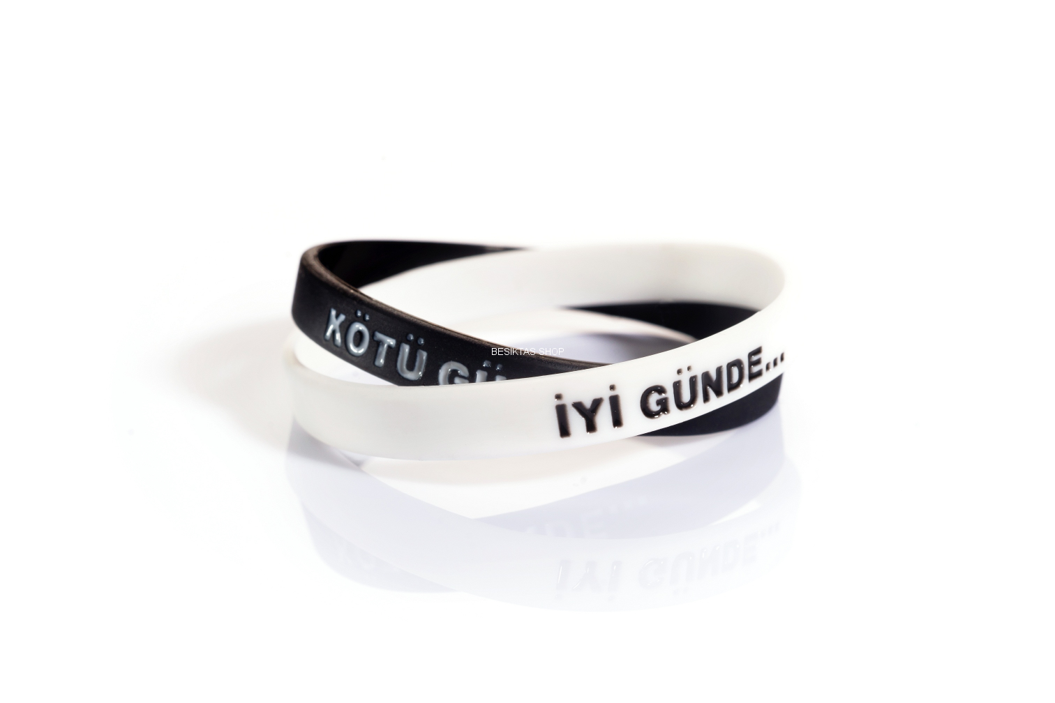 Besiktas Silicon Bracelets from  at Besiktas Shop #