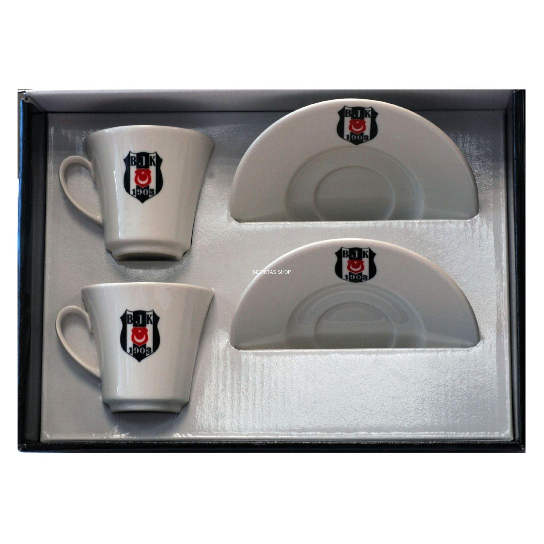 Besiktas Set 2 Logo Coffee Cup from  at Besiktas Shop #
