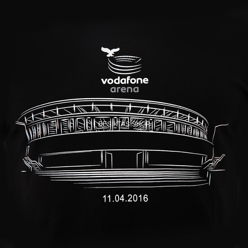 Besiktas VODAFONE ARENA T-shirt from Besiktas JK at Besiktas Shop #