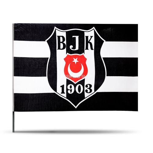 Besiktas Striped Official Flag from  at Besiktas Shop #