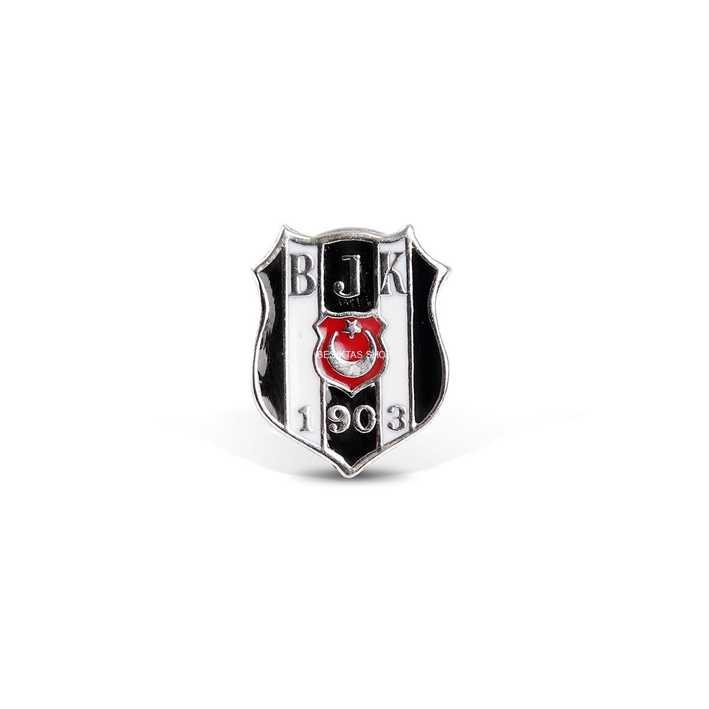 Besiktas Glass-Lined Logo Pin