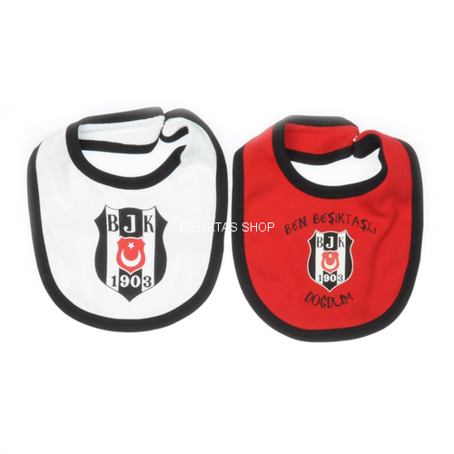 Besiktas Cotton Bib from  at Besiktas Shop #