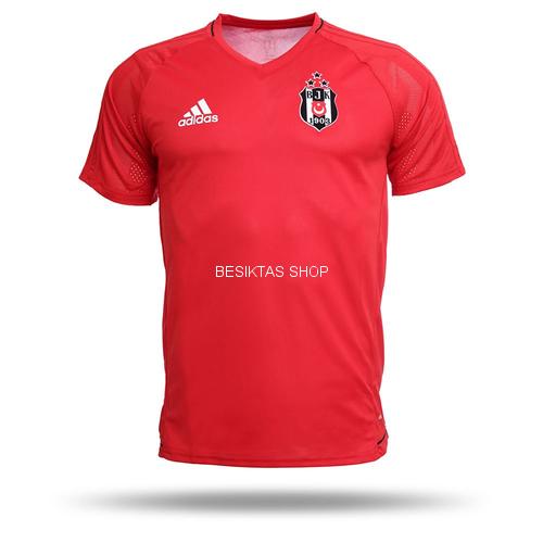 Besiktas Red Training Jersey 2017/18 from adidas at Besiktas Shop # BP8557