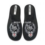 Besiktas Logo Slippers from  at Besiktas Shop #