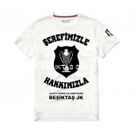 Besiktas SEREFIMIZLE HAKKIMIZLA T-shirt from Besiktas JK at Besiktas Shop #
