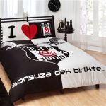 Besiktas Eagle Logo Double Duvet Cover