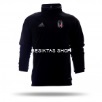 Besiktas Black Fleece Training Hooded Top 2016/17