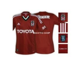 Besiktas Third Jersey 12/13
