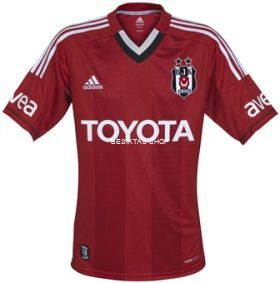 Besiktas Third Jersey 12/13 from  at Besiktas Shop # L20116 TP
